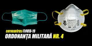 Ordonanța Militară nr. 4 din 2020 privind măsuri de prevenire a răspândirii COVID-19