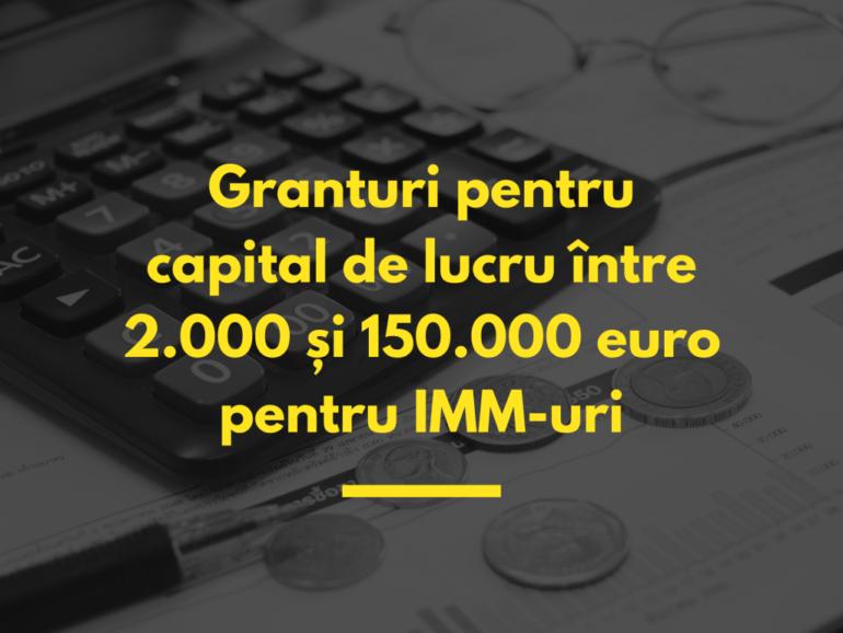 Sprijin pentru IMM, granturi europene